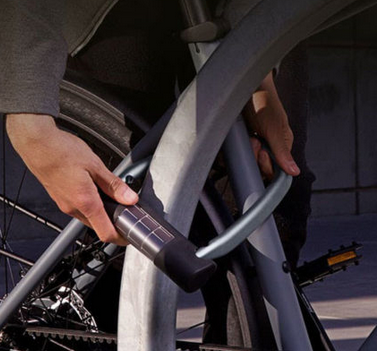 Smart bike lock - Antivol à serrure connectée