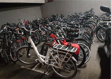 Un trafic de  recel de vélos est en passe d'être démantelé grâce à un tracker et au BICYCODE®