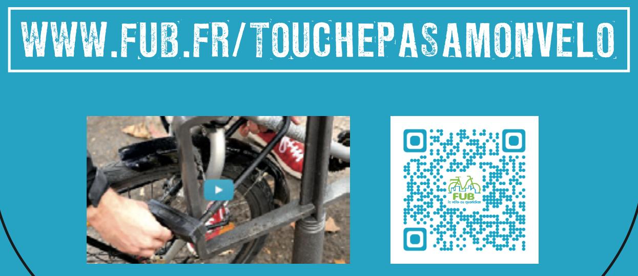 Campagne Touche pas à mon vélo